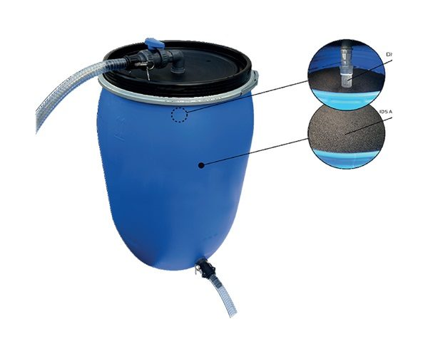 Processus de dépollution eau chargé d'hydrocarbure / Décontamination eau chargé d'hydrocarbure