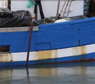 Déjaunissant coque de bateau en polyester / Déjaunissant pont de bateau en polyester / Déjaunissant gelcoat