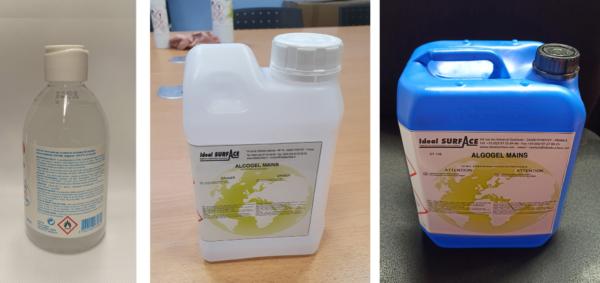 gel Hydro-alcoolique / Solutions désinfectantes