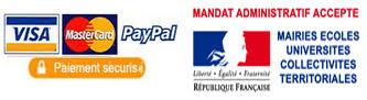 Paiement par carte bancaire et paypal sur idealsurface